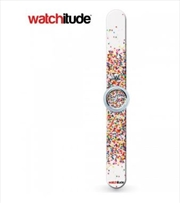 Watchitude #342 – Sprinkle Dots Slap Watch | Apparel
