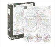 Paris Metro 500 Piece Puzzle  | Merchandise