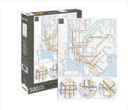 New York Subway 500pc Puzzle