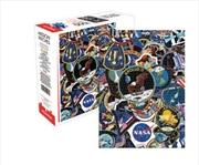 NASA Mission Patches 1000 Piece Puzzle | Merchandise