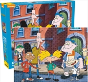 Hey Arnold 500pc Puzzle | Merchandise