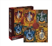 Harry Potter – Crests 1000 Piece Puzzle | Merchandise