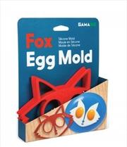 GAMAGO Fox Egg Mold | Miscellaneous