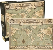 Fantastic Beasts Map 1000pc Puzzle | Merchandise