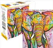 Dean Russo – Elephant 500 Piece Aquarius Select Puzzle | Merchandise