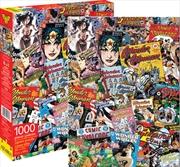 DC Comics WonderWoman Retro Collage 1000pc Puzzle