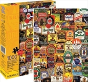 So Many Beers Collage 1000pc Puzzle