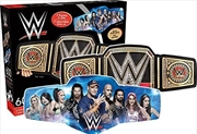 WWE Belt and Collage Double Sided 600pc Puzzle