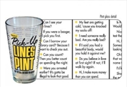 iPartyHard – Pick-Up Lines Pint | Merchandise
