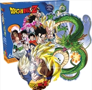 Dragon Ball Z Double Sided 600pc Puzzle