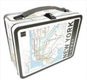 NY Subway Tin Carry All Fun Box | Accessories