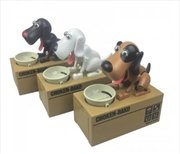 Coin Stealing Dog Money Bank