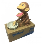 Coin Stealing Monkey Money Bank