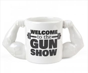 BigMouth Welcome To The Gun Show Mug | Miscellaneous