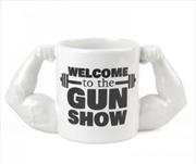 BigMouth Welcome To The Gun Show Mug