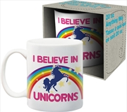 I Believe In Unicorns Jumbo Ceramic Mug | Merchandise