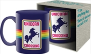 Unicorn Crossing Ceramic Mug | Merchandise
