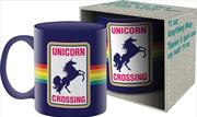 Unicorn Crossing Ceramic Mug