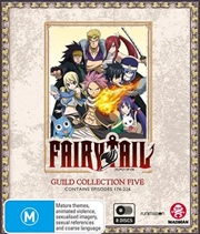 Fairy Tail Guild - Collection 5 - Eps 176-226