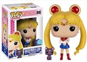 Sailor Moon - Sailor Moon & Luna Glitter US Exclusive Pop! Vinyl