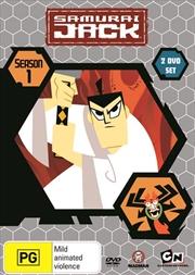Samurai Jack - Season 1-5 | Boxset