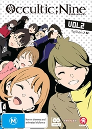 Occultic;Nine - Vol 2 - Eps 7-12 | DVD
