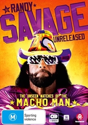 WWE - Randy Savage Unreleased - The Unseen Matches Of The Macho Man | DVD