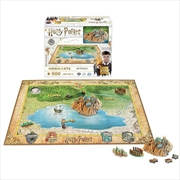 Harry Potter - Mini 4D Puzzle - Hogwarts