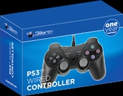 PS3 Wired Controller - Black