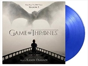 Game Of Thrones Season 5 - Limited Edition Transparent Blue Vinyl