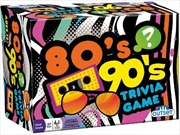 80's And 90's Trivia Card Game