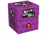 Name 'em All Quiz Cube Game