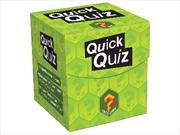 Quick Quiz Cube Game