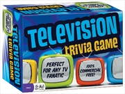 Television Trivia Card Game
