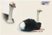Ostrich Sitting 25cm