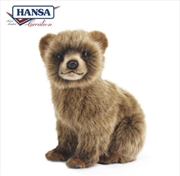 Bear Cub Brown 24cm
