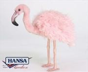 Pink Flamingo 38cm