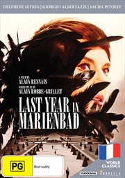 Last Year At Marienbad World Classics Collection | DVD