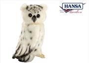 Snow Owl 18cm