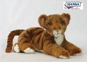 Tiger Cub Lying 36cm | Toy