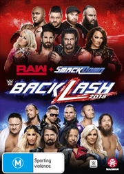 WWE - Backlash 2018 | DVD