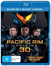 Pacific Rim - Uprising | 3D + 2D Blu-ray + Digital Copy
