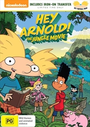 Hey Arnold - The Jungle Movie T-Shirt Transfer | DVD