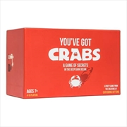 You've Got Crabs Card Game | Merchandise