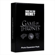What Do You Meme? Game of Thrones Expansion Card Game | Merchandise
