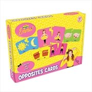 The Wiggles - Emma Opposites Cards Game