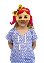 The Wiggles - Emma Plush Face Mask