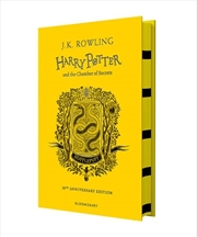 Harry Potter and the Chamber of Secrets - Hufflepuff Edition | Hardback Book