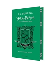 Harry Potter And The Chamber Of Secrets: Slytherin Edition Green | Hardback Book