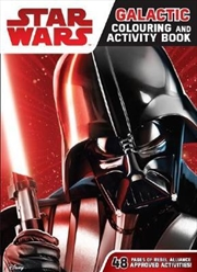 Star Wars - Galactic Colouring And Activity Book